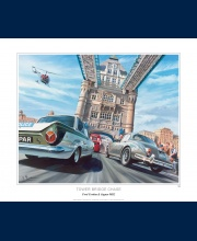 Tower Bridge chase, poster