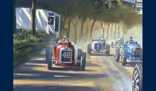 reproduction Grand Prix de Monaco 1931 detail 2