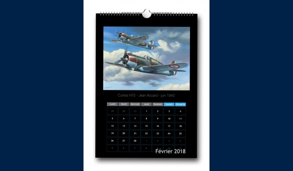 calendrier Aviation 2018 fevrier
