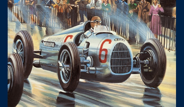 reproduction Silver Arrows detail 2